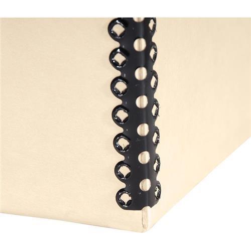 Lineco 13x19'' Archival Print Storage Box, Drop Front Design, 1.5'' Deep, Exterior Color: Tan