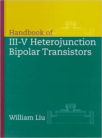 handbook of iii-v heterojunction bipolar transistors 1st edition