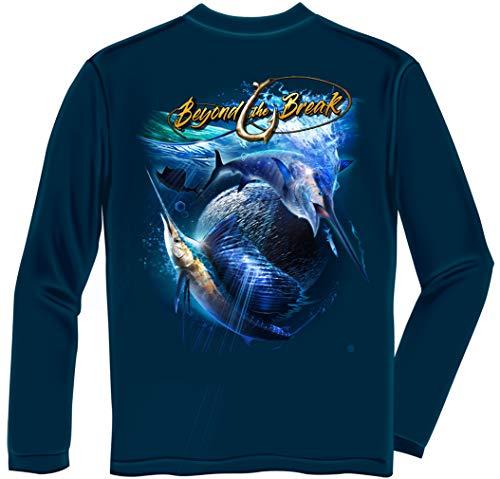 Black Brown 2n Kit (Tackle kit | Sail Fish Baller Off Shore Fishing Long Sleeve T Shirt BTB2392LSL)