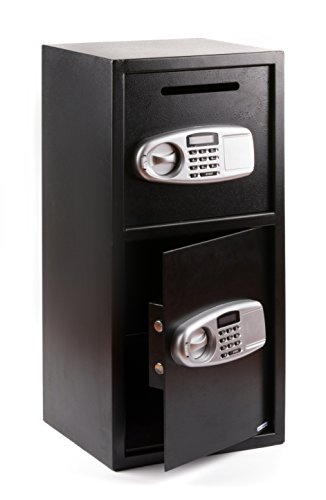 Windaze Large Safe Box Double Door Digital Depository Drop Box Security Lock for Gun Cash Valuable Storage, 3.04 Cubic Feet by windaze