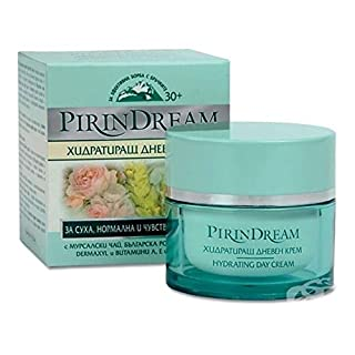Hydrating Anti-Wrinkle, Lifting & Firming Day Cream With Wild Yam & Dermaxyl - Not Tested on Animals - 50ml by Pirin Dream
