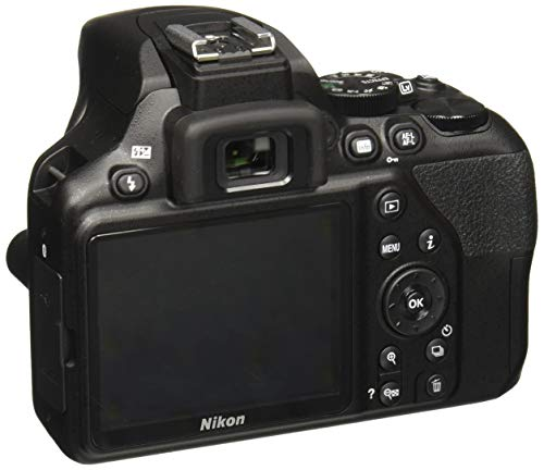 Nikon D3500 W/AF-P DX Nikkor 18-55mm f/3.5-5.6G VR with 16GB Memory Card and Carry Case (Black) 2
