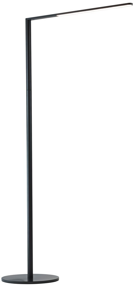 Koncept Lady-7 Metallic Black LED Floor Lamp with USB Port by Koncept