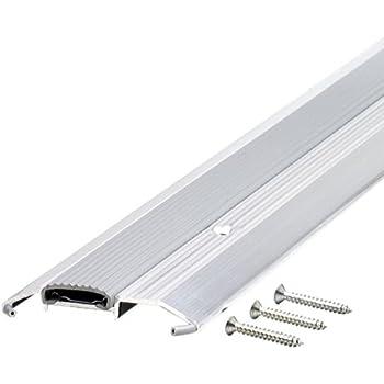Vinyl replacement insert for adjustable height aluminum - Exterior door metal threshold replacement ...