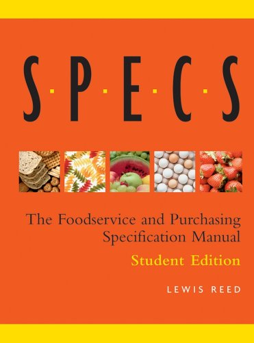 (Specs: The Foodservice and Purchasing Specification Manual)