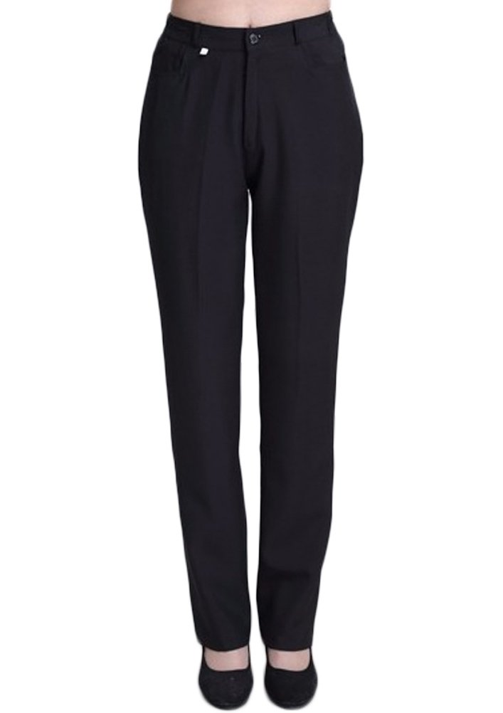 Nanxson TM Women Hotel/Kitchen Uniform Bakery Chef Pants Working Cargo Pants CFW2001 (M, Black)