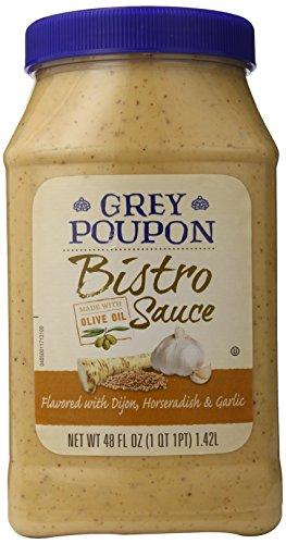 Grey Poupon Bistro Sauce, 48 oz. jar, Pack of 4
