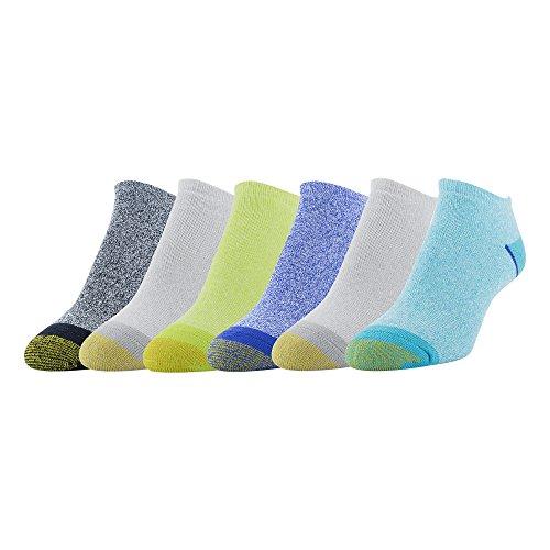 Gold Toe Women's 6-pack Sport Cushion No Show Sock Marled Mix 3 Shoe Size: (Show Cushion Socks)