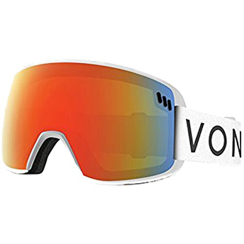 VONZIPPER ALT SM, White/Fire - Sunglasses Zipper Von White