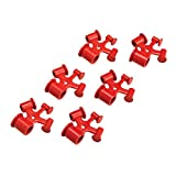 Brady Red ABS Plastic Fuse Blockout Device (6 ea)