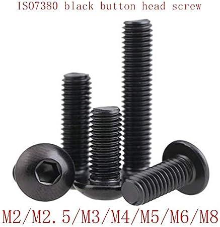 M6 10Pcs 50Pcs 304 Vis hexagonale M2 M3 M4 M5 M2.5 M6 M8 Bouton hexagonal Hardware vis 5 45mm