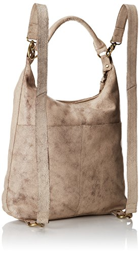 Artisan Leather Linings Latico Luxury Designer Crackle Fashion Backpack Authentic White 100 Marilyn Made Cxnqw8Iq0A