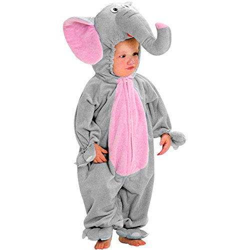 Adorable Toddler Elephant Costume (Size:2-4T/ 4T)]()