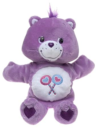 Amazoncom Care Bears Share Bear Puppet Toys  Games