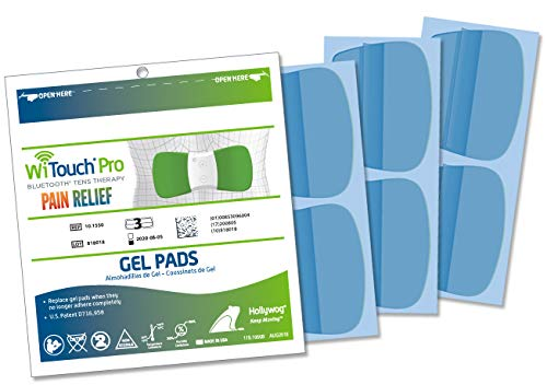 WiTouch Pro and Aleve Direct Therapy TENS Gel Pads Refills - 1 Pack of 6 - Therapy Pad