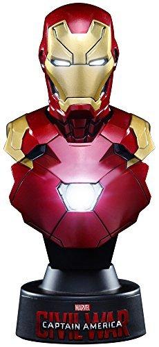 Hot Toys Bust Civil War / Captain America Iron Man Mark 46 1/6 scale plastic Painted Mini Bust