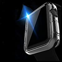 Apple Watch Case, Misxi Apple Watch TPU Screen Protector All-around Protective 0.3mm ultra-thin Case for iWatch All Models ( Apple watch 38mm case )