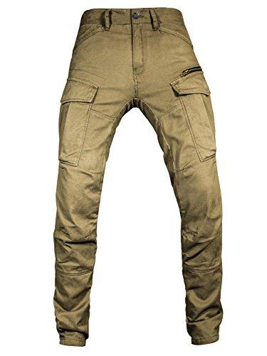 John Doe Pants Motorrad Hose Stroker Cargo Black