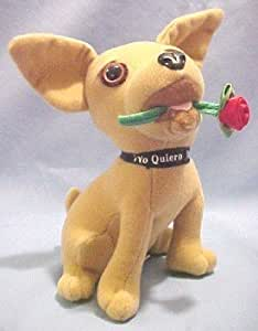 """Taco Bell Vintage Talking Plush Chihuahua: """"I Think I'm in Love"""" (NEW SEALED IN ORIGINAL PACKAGING!)"""