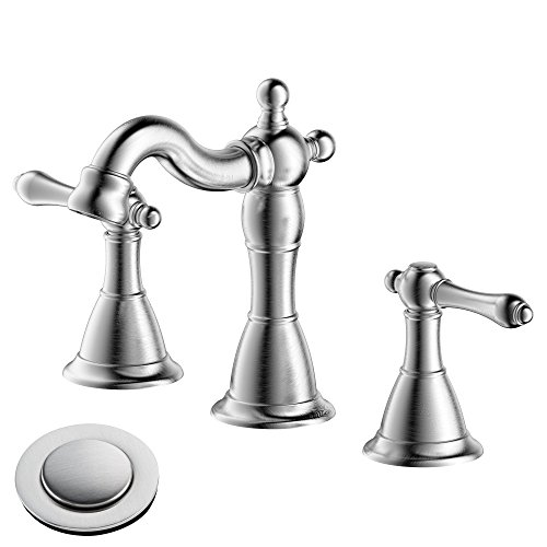 8 in brushed nickel faucet - 3