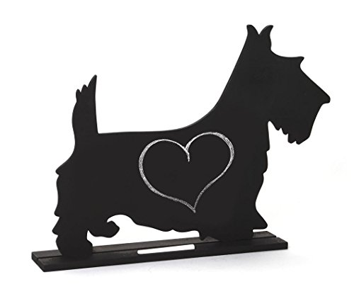 Dog Silhouette Table 11.75