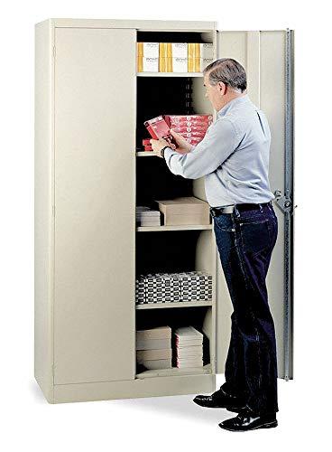 Industrial Storage Cabinet, Putty, 78