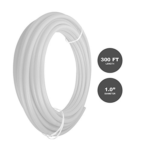 Pexflow PEX Potable Water Tubing - PFW-W1300 1 Inch X 300 Feet Tube Coil for Non-Barrier PEX-B Residential & Commercial Hot & Cold Water Plumbing Application (White) by PEXFLOW (Image #3)