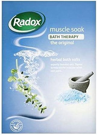 Radox a base de plantas Sales de baño muscular Soak – Pack de 2: Amazon.es: Belleza
