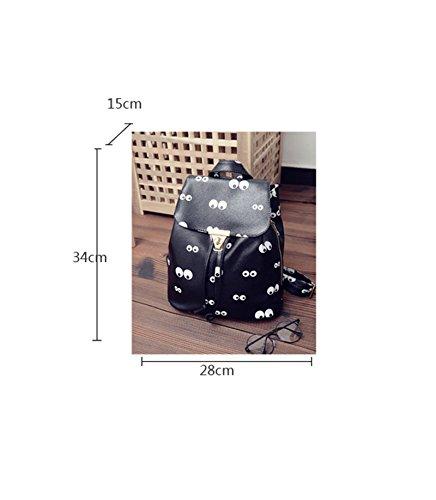 Sacchetto di spalla selvaggio / sacchetto di spalla / sacchetto di spalla di modo della ragazza della nuova zaino / trend di stampa ( stile : 1 )