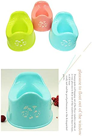 Daliuing Baby Potty Portable Easy to Carry Urinal Toddler Potty Training Seat Comfortable Plastic Toilet Chair Safe Trainer Potty Bowl for 0-4 Year-old Children