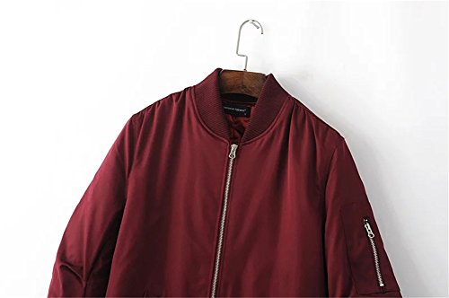 Wine M2c M2c Giacca Donna Donna Giacca Red qPfH7FyqR