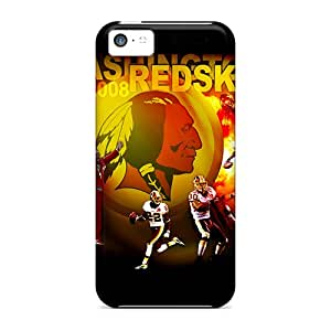 High Quality Shock Absorbing Case For Iphone 5c-washington Redskins