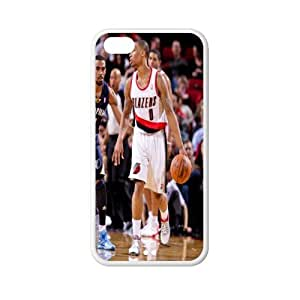 Super Star Damian Lillard plastic hard case skin cover for iPhone 5s for you AB616801