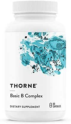 Thorne Research Basic B Complex 60 Vegetarian Capsules
