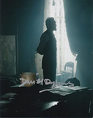 DANIEL DAY LEWIS (Lincoln) signed 8x10 photo (Daniel Day Lewis Lincoln)