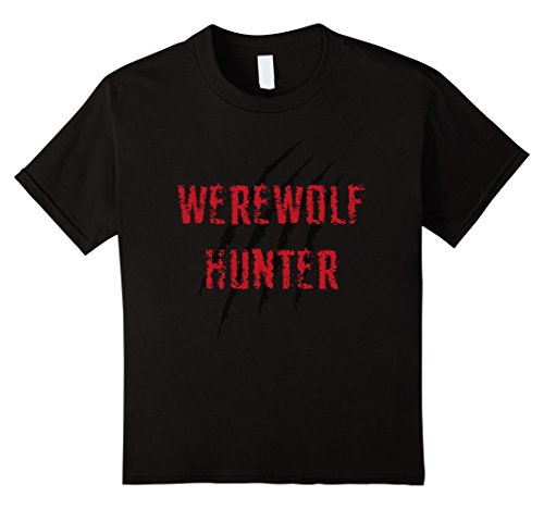 Kids Werewolf hunter halloween costume for man and woman 12 Black