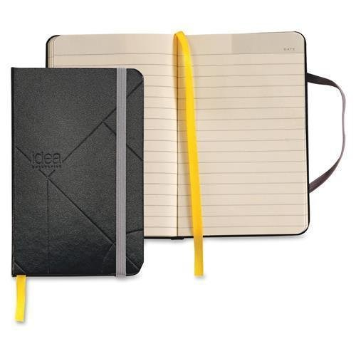 TOPS 56874 Idea Collective Journal, Hard Cover, Side Bound, 5 1/2 x 3 1/2, Black, 96 Sheets