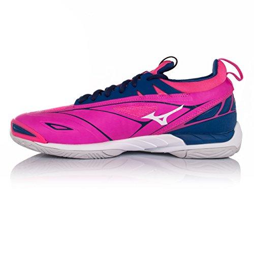 Mizuno Wave Mirage 2 Chaussures De Netball Féminin Rose