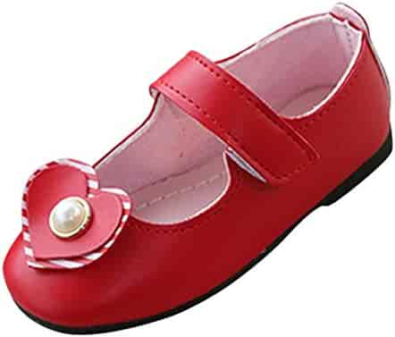 Activewear Clothing & Accessories Kariwell Mary Jane Shoes Toddler Kid Baby Girls Solid Flower Student Single Soft Dance Princess Shoes