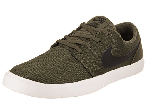 Uomo Nike Sb Portmore Ii Ultraleggeri Scarpe Da Skate Medio Di Oliva / Nero