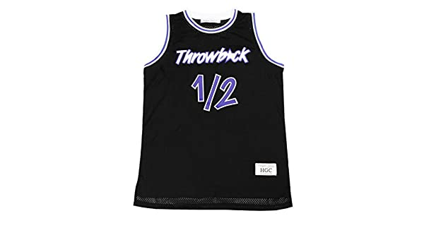 f1a33e121 Amazon.com   Anfernee Penny Hardaway Lil Penny 1 2 Throwback Basketball  Jersey   Sports   Outdoors