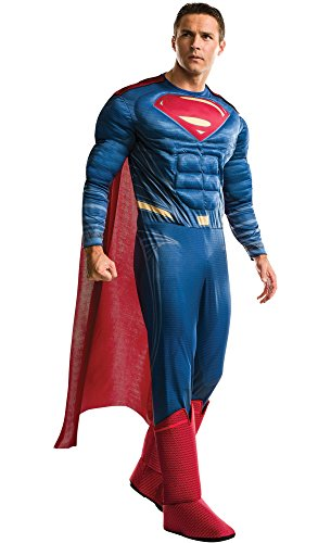 HalloCostume Adult Superman Muscle Costume - Batman v Superman: Dawn of Justice
