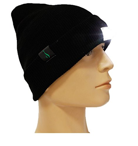 Led Lighted Dog Cap - iElegance Extremely Bright LED Lighted Beanie, Headlamp, Cap, Hat! Unisex! Perfect Hands-Free Flashlight for Jogging, Dog Walking, Hunting, Camping, Grilling, and More! 100%!