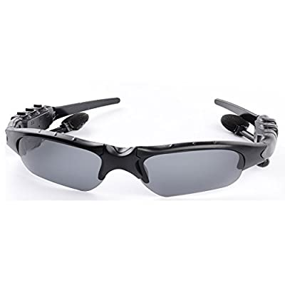 Sports Bluetooth Sunglasses Lens Smart Touch Wireless Stereo MP3 Music Hand-free Riding Running