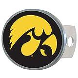 NCAA Iowa Hawkeyes Oval Hitch Cover