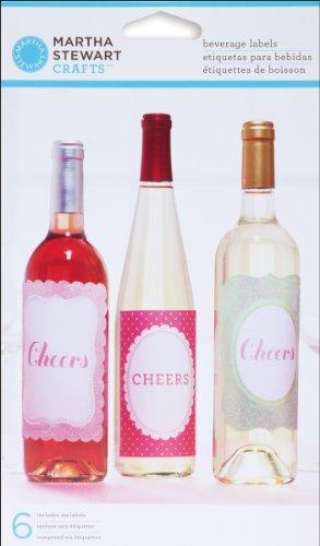 s EK Success Vintage Girl Beverage Labels ()