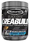 Creatine | MuscleTech CreaBuild Black Onyx | Creatine HCL + Creatine Monohydrate Powder | Muscle Builder for Men & Women | Post Workout Supplements | Gummy Burst (30 Servings)