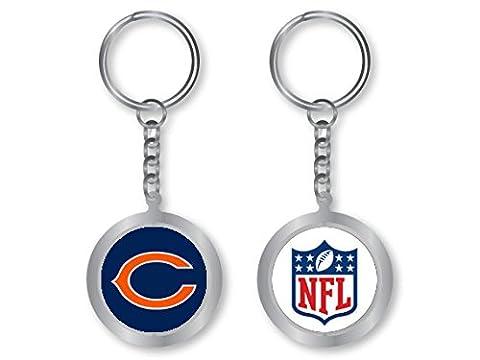 Chicago Bears - NFL Spinning Logo Keychain - Nfl Key Ring
