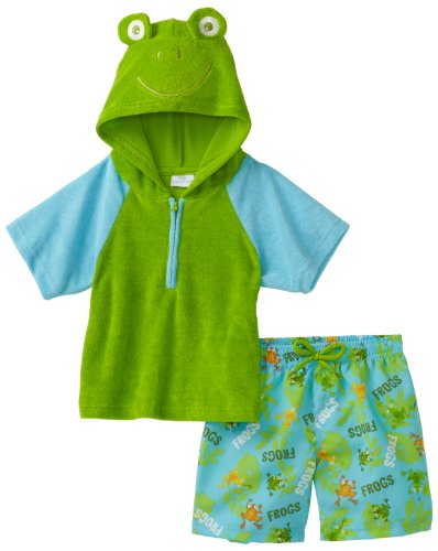 Kids Headquarters Baby Boys' Swim Pullon Shorts with Top