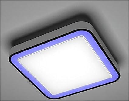 LED RGB Deckenleuchte Dimmbar Fernbedieung Desginleuchte Wohnzimmer Lampe
